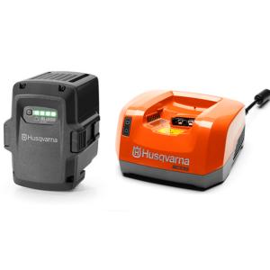 Batteri og Lader